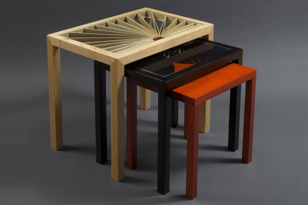 Seth Rolland Lorraine S Nesting Side Tables