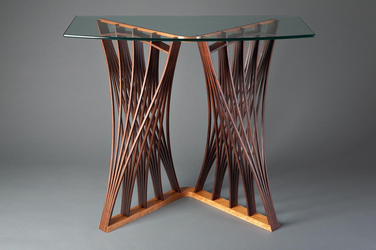 Seth Rolland Parabola Display Table